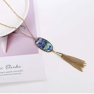 New Anthropologie tassel necklace